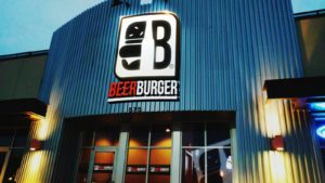 Beer Burger in North Liberty, Iowa