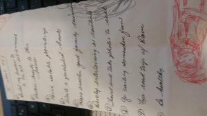 Old wish list found